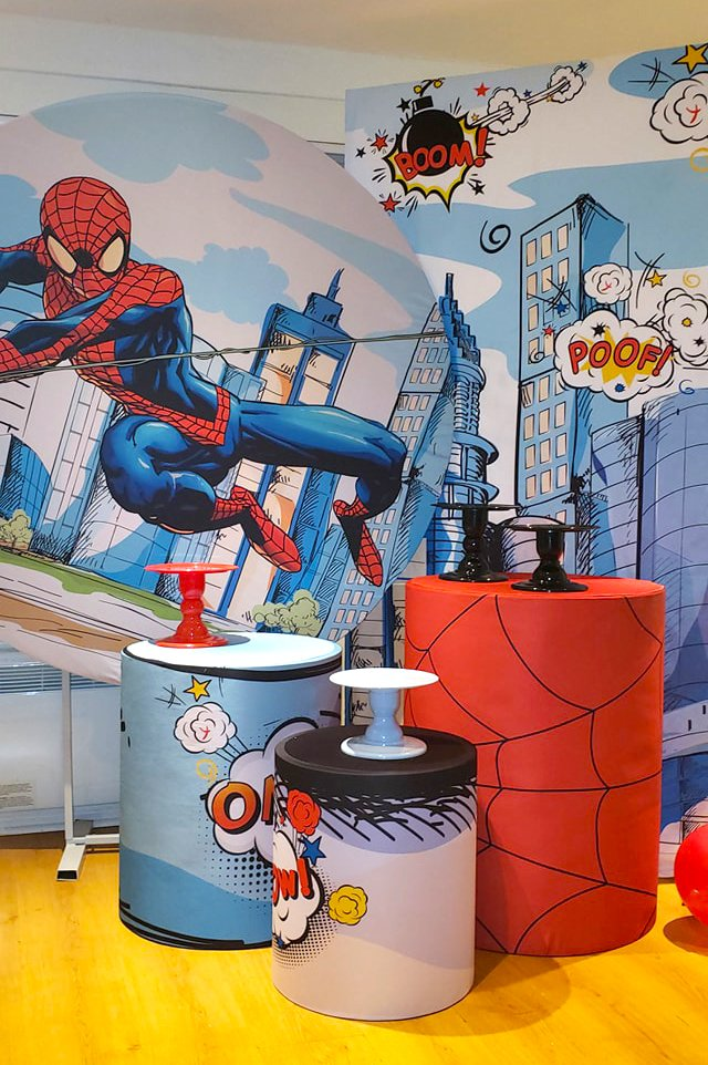spiderman-party-decor