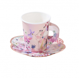 tasse de carton-tea cup- blossom girl